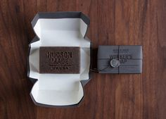 Hudson Made: Worker's Soap #workers soap packaging