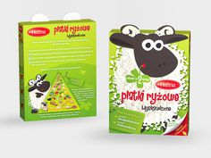 Halina Platki Ryzowe on Packaging of the World Creative Package Design Gallery #packaging