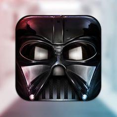 Dark vader icon #icon #logo #starwars