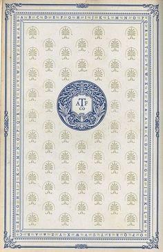 Design / book, plate, design #page #vintage #book