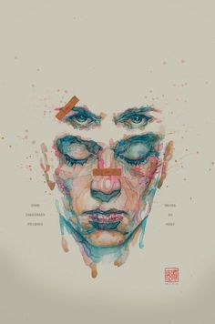 Super Punch: Fight Club 2 comic book covers #illustration #punch #super #fight #club #comic #watercolour #art #poster