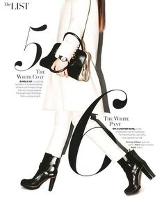 The List (Harper's Bazaar) #mag #editorial #magazine