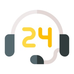 See more icon inspiration related to support, customer support, time and date, 24 hours, customer service, telemarketer, headphones, electronics, communications, microphone and technology on Flaticon.