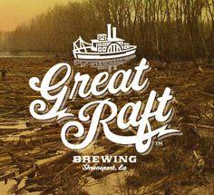 Great Raft Brewing Logo #packaging #beer #logo