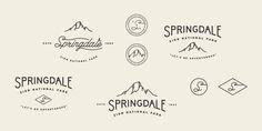 Springdale full res #logo #lettering #logos #hand