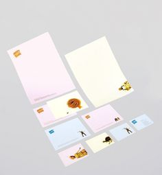 Sweet little things – Magdalena Czarnecki #print #identity #stationary #typography