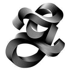 "Typeverything.com ""G"" for the Simpl3 Tigografica... Typeverything #3d #blend"