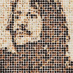 Art Sponge I Inspirational Visual Art #beatles #george #hargreaves #harrison #portrait #toast #henry #bread