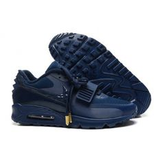 Nike Shoes Air Max 90 Yeezy Ii 2 Sp the Devil Series West All Dark Blue