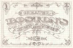 • Sign Sketches bestdressedsigns.com #sign #lettering #sketch #typography
