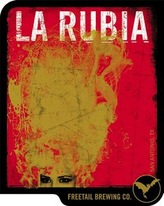 Freetail La Rubia #packaging #beer #label #bottle