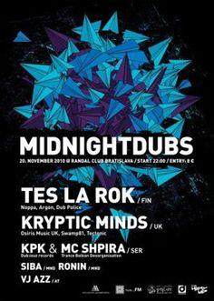 midnight poster #paperplanes #design #graphic #poster #midnightdubs