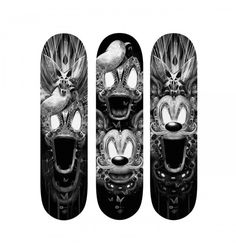 FANTASMALAND by Nicolas Obery -available @ artandtoys.com #skate #art