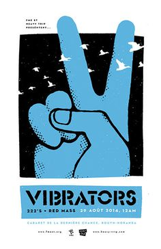 GigPosters.com - Vibrators, The #kenneth j maclaurin #poster