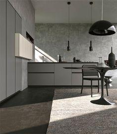 Shades Of Grey - InteriorZine #kitchen #gray