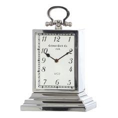 Nepean Silver Table Clock, 35 cm