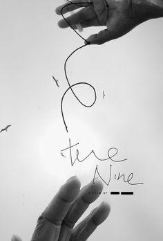 katy Grannan movie poster for the nine black and white hand written #poster #blackandwhite #hand