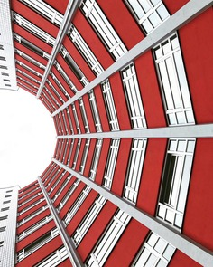 Minimalist and Colorful Architecture Photography by ️Jan Köhler