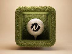 Golf #icon #iphone #application #ipad