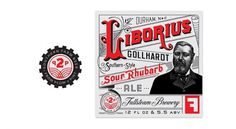 Liborium Ale #beer #badge #branding #packaging #label #logo #ale #typography