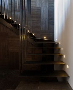 Glamorous Istanbul Apartment by Tanju Ozelgin -#stairs, #staircase, #stairway, architecture, stairs