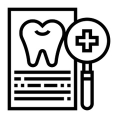 See more icon inspiration related to dentist, dental, tooth, dental insurance, files and folders, healthcare and medical, premolar, loupe, odontology, insurance, magnifying glass, plus, add, document, file and medical on Flaticon.