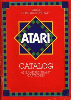 Atari - The Atari Video Computer System Catalog | Flickr - Photo Sharing! #video #booklet #games #manual