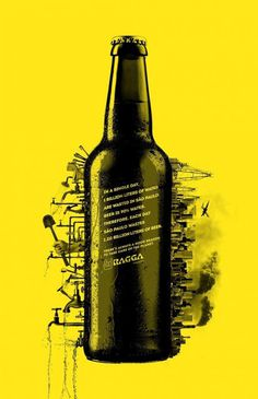 Ragga Magazine: Beer #print #ad
