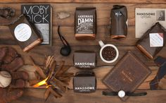 Handsome_Coffee_up_overview_2 #packaging #coffee