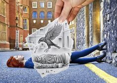 Creative Photography by Ben Heine #creative #photography