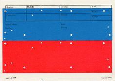 Karel Martens Letterpress. « Present #colour