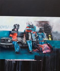 Oil Paintings by Joram Roukes #illustration #art #paintings