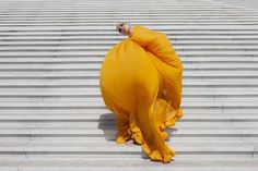 We Folk | Viviane Sassen | Viviane Sassen - DeLaMar Theatre #fashion #photography #dress #yellow