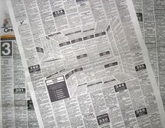 A Creative, Attention-Grabbing Newspaper Ad That Looks Three-Dimensional #kitchen #newspaper #ad