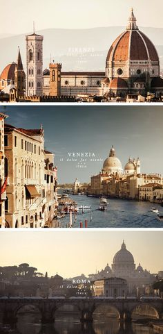 Italia travel advertisement