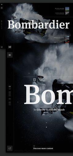 Medium: Collection Concept on Web Design Served #web design