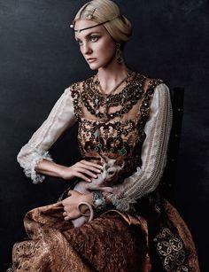 Caroline Trentini by Giampaolo Sgura