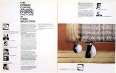 ken garland:graphic design:design centre awards #spread #print #booklet #vintage