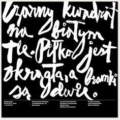 Black square : Survival Mode #typography #jan estrada osmycki