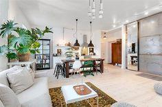 Vy mot kök och hall #interior #design #stockholm #decoration