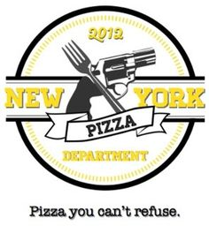 NYPD #gun #pizza #york #logo #fork #new