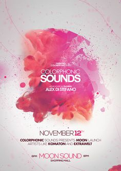 poster #colorphonic #poster #sounds