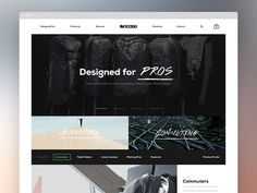 Incase Homepage Direction 1 #grid #ui