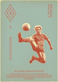 Sucker for Soccer on the Behance Network #vintage #poster #soccer #dada #futbol