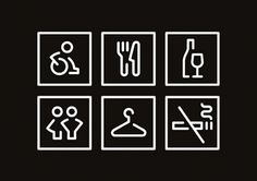 Spinderihallerne on the Behance Network #icons