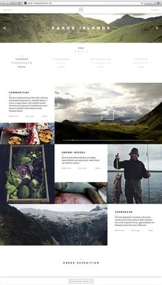 Noma Authentic | Website #design #website #minimal #layout #web