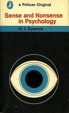 Sense and Nonsense in Psychology | Flickr - Photo Sharing! #illustration #book #book cover #science #eye #circle #pelican
