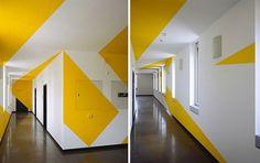Anamorphic Illusions by Felice Varini | Inthralld #anamorphic #illusions