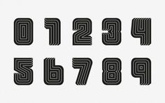Carlos Pagan / Print Magazine New Visual Artists 20 Under 30 #numbers #type #digits