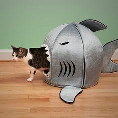 Japanese Nanotechnology Shark Pet Beds #pet #gadget #home